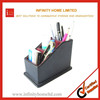 Plastic desktop pen holder foldable fabric storage box