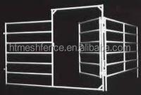cattle panel fences/ 2.1m x1.8m 6 rails portable horse pens pan panels direct factory