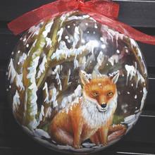 4d printing customize transparent designs Christmas Tree Ornaments