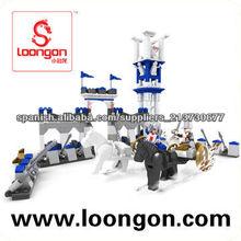 Loongon Pirata serie ladrillos pequeños 400PCS juguetes didácticos
