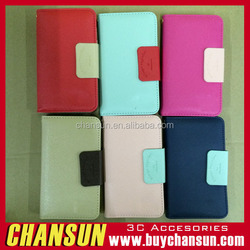 2015 Cheap Price Quality Leather Wallet Flip Case For LG Joy