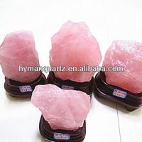 natural rock rose quartz crystal original crystal cluster