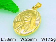 Great Mother's Day Gift 18K Gold Stainless Steel Pendant