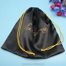 Elegant large satin lingerie packing bags wholesales