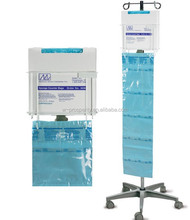 Hospital sponge counter bags wire rack