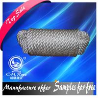 durable 8 strand 144mm polypropylene battle rope, pp rope hoist