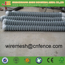 Galvanized diamond hole Chain Link security metal fence and gate supplier