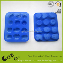 Silicone different animals shape Mould/cake decorating tools