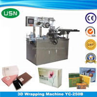 Low Price Automatic plastic film wrapper