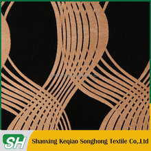 home use flocking fabric on cotton yarn twice flocked