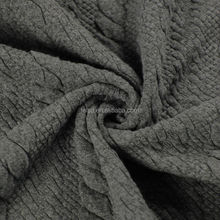 2015 new design for dress breathable feel mattress ticking fabric jacquard knitted fabric with clear waterproof pu