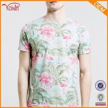 novo modelo casual camisa havaiana de tecido para homens