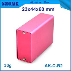 High-quality aluminum metal enclosures for pcb 23x44x60mm