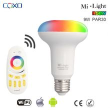 2015 super hot design 6W RGB led bulb with dimmable remote controller wifi led bulb lamp