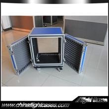 19inch Blue Color Shock mount Aluminum pro Flight Case for sale