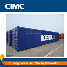40ft soft open top container