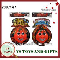 2014 new voice plastic halloween foam skulls