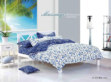 classic printed cotton bedding sheet set queen and king
