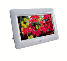 full function MP3 Mp4 photo playback digital photo frame charger