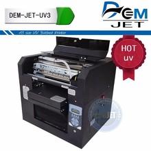 Digital uv lamp printing machine printer for printing on plastic like phone case/cards /pen/ bottle