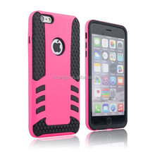 New products on china market Tyre grain heavy duty rocket design PC&TPU case mobile phone case for iphone 6 factory price