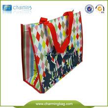 Customized Logo Promotional PP Non Woven Shopping Bag / PP Non Woven Bag Price
