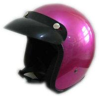 Antique German Helmet Hot Sale For Motorcycle Rose Red Color