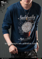 Whosale men's cheap printed graphic t shirt,garments buyer for stock lot