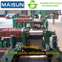 HOT SALE tyre reclaim rubber machinery for waste tyre/used tires recycling production line
