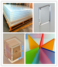 2mm--200mm high quality casting plexiglass sheet colour acrylic