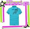 New fashion printed polo shirts mens bright color polo shirt 100% cotton polo shirt