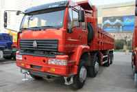 SINOTRUCK Styer 40 Tons Tipper can totally Match Japan Tippers