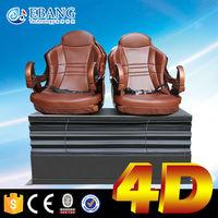 Saudi arabia popular hydraulic electrical 4d motion chair 5d cinema