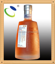 Item HSB 128 beverage glass bottle liquor, whole sale glass bottle ,beverage bottle