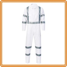 High visibility work reflective coverall