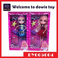 New product China wholesale children toys moveable joint Plastic 9 inch High School Monster Doll Barbie Manufacturers