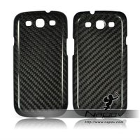 100% real carbon fiber cell phone case for samsung galaxy s3 i9300