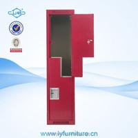 steel/metal/iron z shape door locker