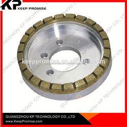 China diamond tools cup shape metal bond diamond cutting wheel & glass polishing glass grinding wheel