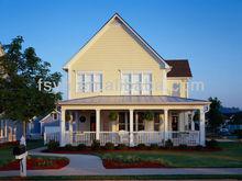 low cost prefabricated luxury wooden villa