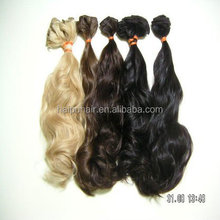 2015 good quality curly very popular hot sale Indian hair wet&wave
