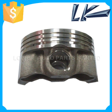 Forged piston for racing motorcycle