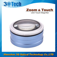 DH-86001 zoom magnifier rimless for utility