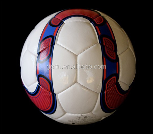 2015 new design hand stitched training match soccer balls