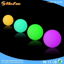 Supply all kinds of led disco ball,glowing ball outdoor colored