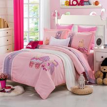 Popular cotton elegant king size bedroom sets
