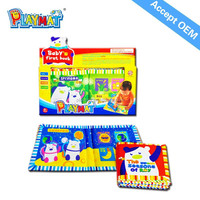 HX101H soft and colorful baby cloth book ,baby first book WHOLESALE