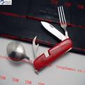 increíble cuchara de metal / cuchara de metal lindo / buena calidad plegable cuchara de acero inoxidable