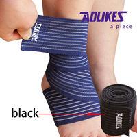 The black elastic belt ankle guard