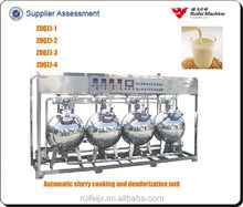 four-tank milk curd making machine